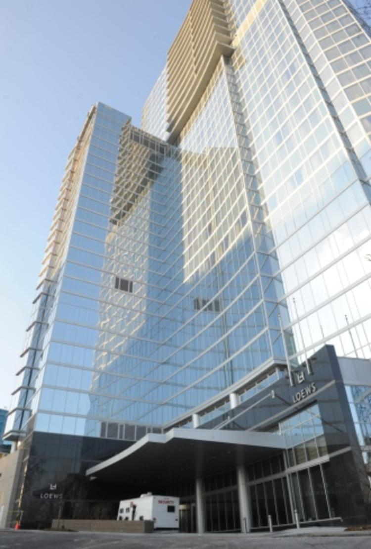 Loews Atlanta Hotel opens with fanfare