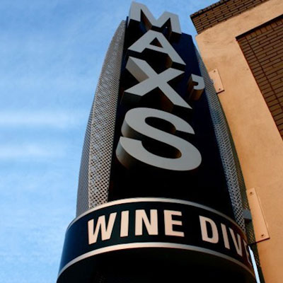 MAX'S WINE DIVE TO OPEN AT 12TH AND MIDTOWN