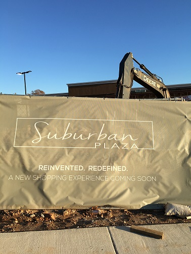 Suburban Plaza – Demolition begins soon